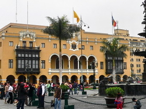 Municipal Palace Of Lima