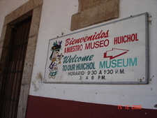 Entrance To The Huichol Museum