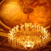 Crystal Chandelier Located In The Main Auditorium