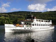 M V Swan On Lake Windermere