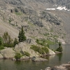 Mystic Island Lake In The Holy Cross Wilderness