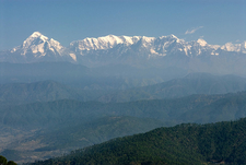 Nanda Devi And Himalayan Range