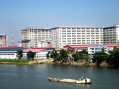 Narayanganj City Beside The Shitalakkha River