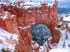 Natural Bridge In Bryce Canyon
