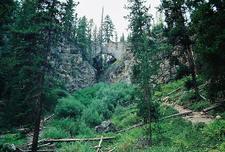 Natural Bridge - Yellowstone - USA