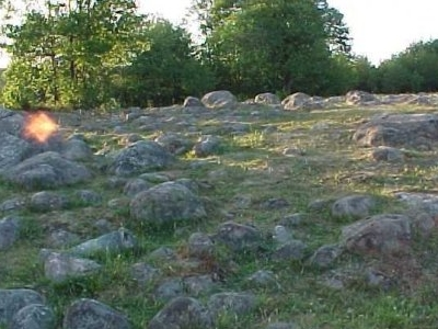 Nature Reserve Of Bachanowo Boulder Field On The Czarna Hańcza