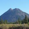 Nearby Black Butte From Weed, California