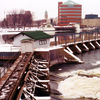 Neenah Dam On The Fox River