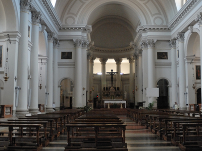 The Interior Of The Duomo