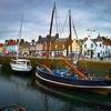 Neuk Of Fife Harbor - Scotland