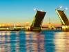 Neva River Palace Bridge - St. Petersburg