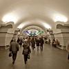 Nevsky Prospekt Metro Station Hall