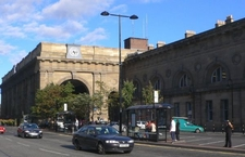 Newcastle Station Exterior