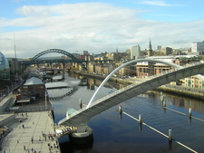 Newcastle Quayside Amp River Tyne Viewed From Gateshead