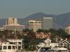 Newport  Center  Skyline And  Santa  Ana  Mountains