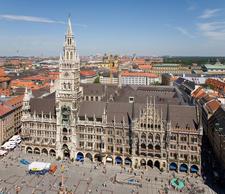 The New Town Hall And Marienplatz