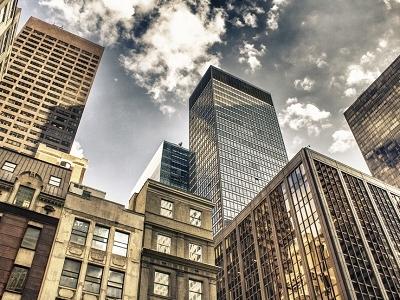 New York City Manhattan Skyline NY