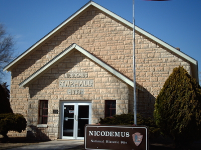 Nicodemus National Historical Site