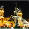 Night Lit Catedral De Lima