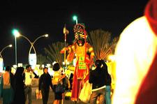 Night View Of Dubai Festival