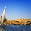 Nile River At Aswan