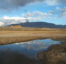 NM Albuquerque Sandias Landscape