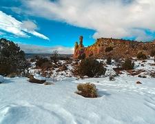 NM Chimney Rock Landscape