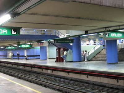 Northbound Platform La Viga