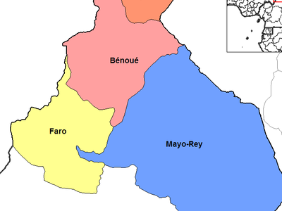 North  Cameroon Divisions