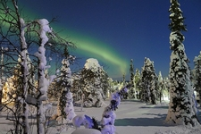 Northern Lights In Ruka - Finland
