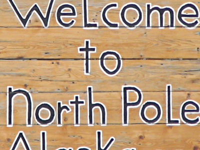 North  Pole  Alaska  Welcome