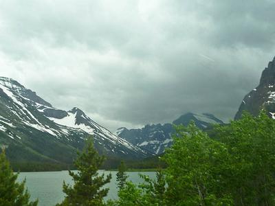 North Swiftcurrent Glacier Montana USA