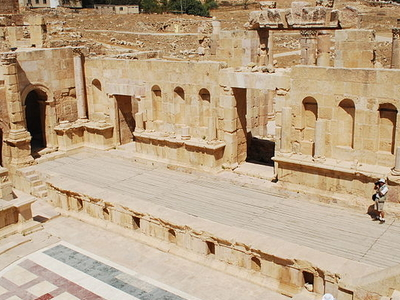 North Theatre Jerash