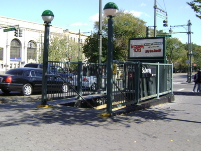 Nostrand Avenue Eastern Parkway