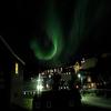 Nothern Lights In Maniitsoq Town