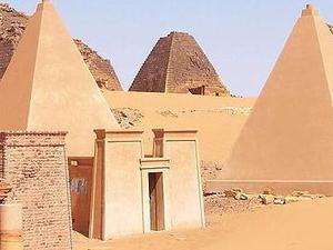 Pirâmides Nubian
