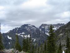 Numa Lookout Trail Views - Glacier - Montana - USA