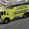 A Fire Truck At Salt Lake City Airport