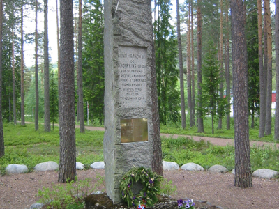 War Memorial For The Bombardment