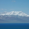 Nyenchen Tanglha Mountains Above Namtso Lake
