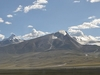 Nyenchen Tanglha Mountains Viewed FromQinghai-Tibet Railway