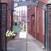 New York Marble Cemetery Entrance