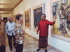 Nyoman Rudana At The Painting Exhibitions