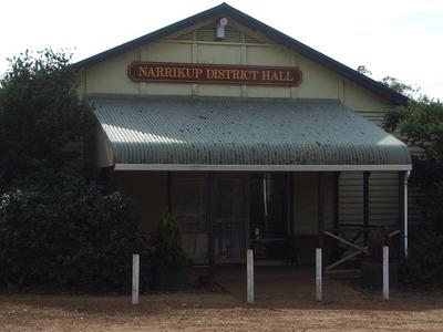 Narrikup District Hall