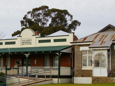 Soldier Memorial Institute Of Narrogin