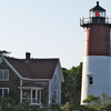 Nauset Light And Lightkeepers House