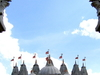 Front View Of The BAPS Shri Swaminarayan Mandir