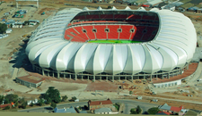 An Overhead View Of The Stadium