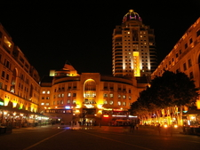Nelson Mandela Square At Night