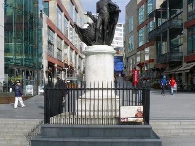 Nelson Statue Birmingham
